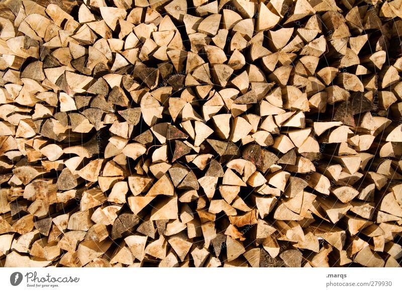 Vorsorge Landwirtschaft Forstwirtschaft Umwelt Natur Holz Ordnung Rohstoffe & Kraftstoffe Brennholz Totholz anzünden eckig trocken Holzstapel Material