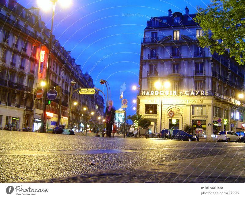 republique Paris Europa metropolitain Stimmung temple