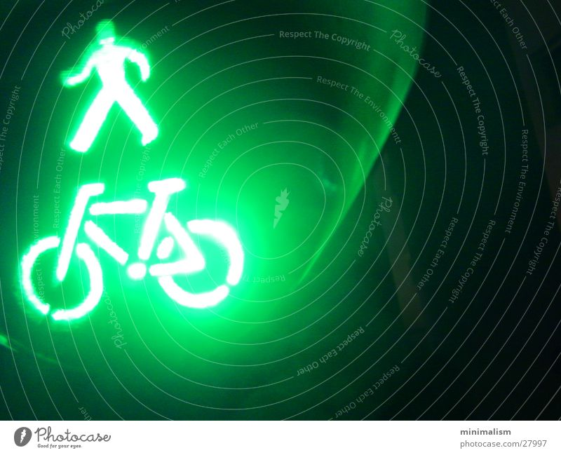 grüner wird's nicht.. grün Technik & Technologie Ampel Elektrisches Gerät