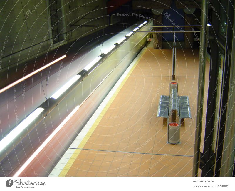 ruhe U-Bahn Köln ruhig Nacht Einsamkeit Verkehr Bewegung