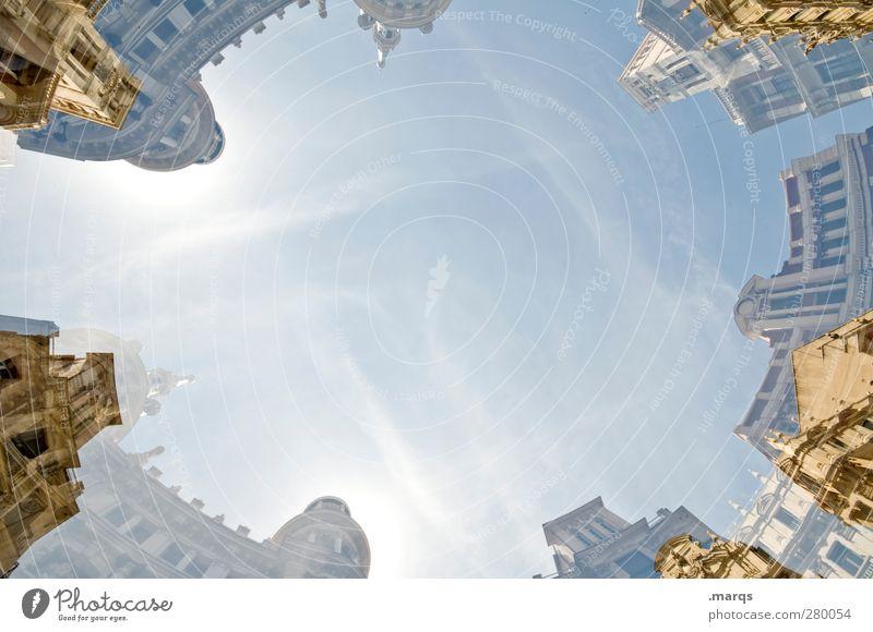 City Centre alt Ferien & Urlaub & Reisen Haus Architektur Gebäude hell außergewöhnlich Fassade verrückt Perspektive einzigartig Kultur trendy Stadtzentrum