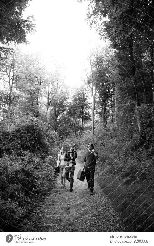 ausflug Mensch Natur Ferien & Urlaub & Reisen Wald Ferne Umwelt Wege & Pfade Freiheit Zeit Ausflug Abenteuer Expedition