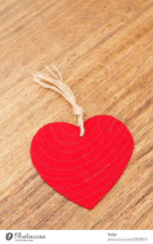 Valentinsherzen Design schön Dekoration & Verzierung Tisch Tapete Feste & Feiern Valentinstag Hochzeit Holz Ornament Herz alt Liebe modern retro rot Romantik