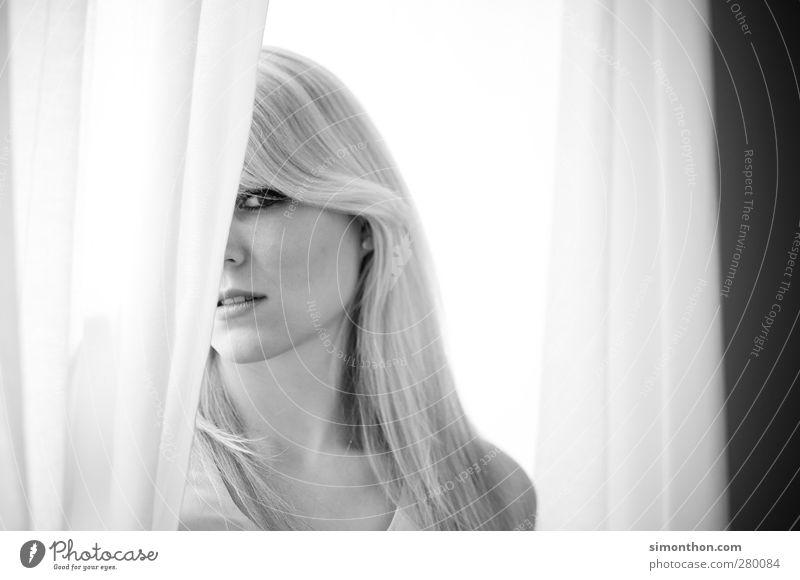 portrait Mensch Jugendliche schön ruhig Erwachsene Gesicht Erholung Liebe feminin Leben Gefühle Haare & Frisuren Traurigkeit 18-30 Jahre Haut Warmherzigkeit