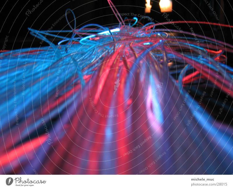 Bunte Leuchtfäden Ferien & Urlaub & Reisen Farbe Lampe Kunst Glas Europa ästhetisch Österreich Kristallstrukturen Nähgarn Sehenswürdigkeit Glasfaser