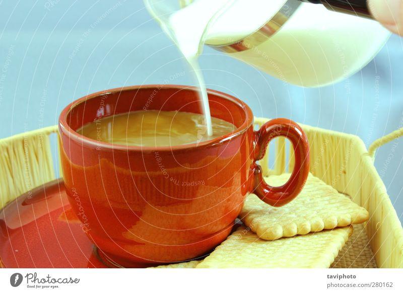 rot Farbe Freude Erholung dunkel Gesundheit Lebensmittel Ernährung Getränk Kaffee trinken heiß genießen Gelassenheit Flüssigkeit lecker