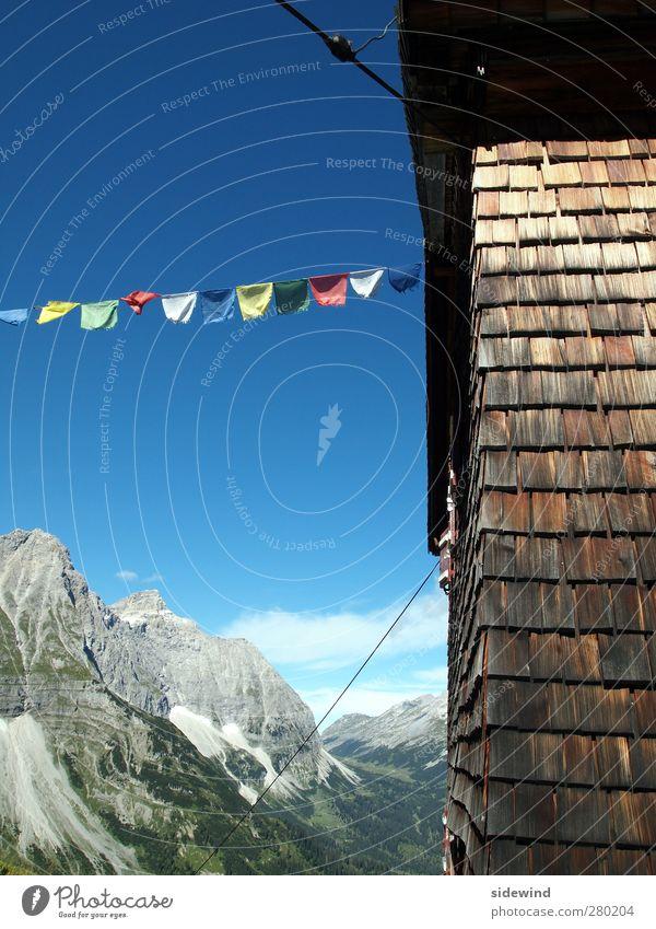 Sherpa II Himmel Natur Ferien & Urlaub & Reisen Landschaft Ferne Berge u. Gebirge Holz Freiheit Felsen wandern Tourismus Ausflug Abenteuer Schönes Wetter Alpen Gipfel
