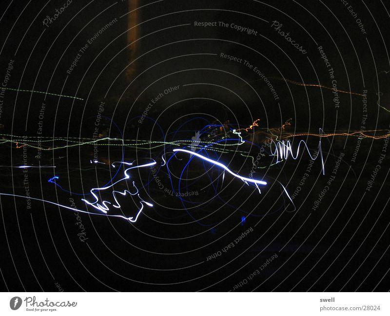 Nachtschwärmer Farbe Bewegung