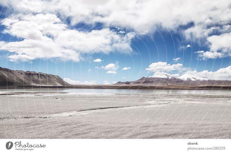 desolate waste Natur Wasser Landschaft Berge u. Gebirge Umwelt Sand Wetter Luft Erde Schönes Wetter Gipfel Hügel Schneebedeckte Gipfel Wüste Gletscher
