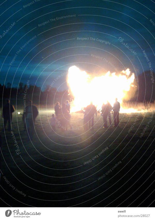 FIRE Mensch Menschengruppe Feste & Feiern Brand Flamme