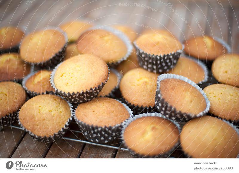 klein Party Hintergrundbild braun Lebensmittel frisch Kochen & Garen & Backen Kuchen Backwaren Dessert Ebene Miniatur Snack kühlen Konfekt kulinarisch
