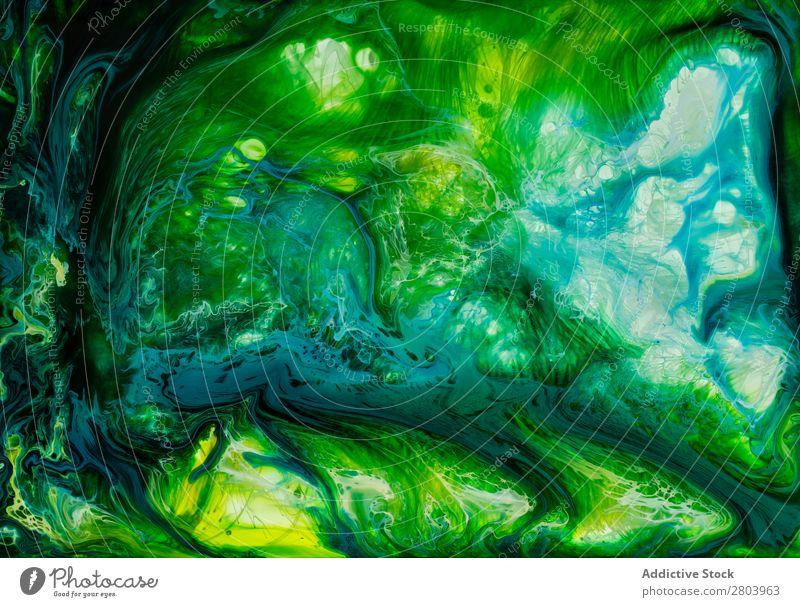 Abstrakter Fluss von Flüssiglacken in der Mischung abstrakt fließen malen liquide mischen Hintergrundbild Bewegung Oberfläche