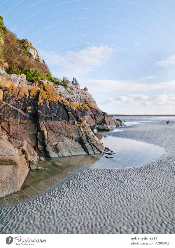 Himmel Pflanze Meer Strand Wolken Landschaft Küste Sand Horizont Insel Europa Frankreich Moos Gesetze und Verordnungen Pilz Botanik