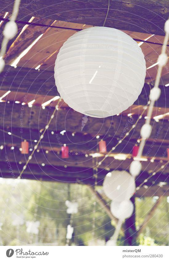 Sommerwind. Sommer Garten Innenarchitektur Mode Kunst Wind Zufriedenheit Hochzeit ästhetisch Dekoration & Verzierung Luftballon Sommerurlaub wehen Decke Lampion sommerlich