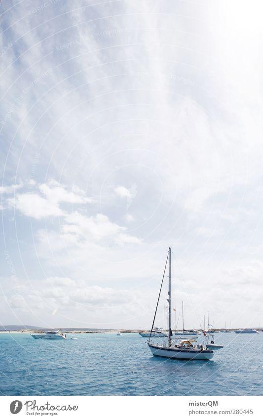Lagune. Klima Schönes Wetter ästhetisch Ferien & Urlaub & Reisen Urlaubsfoto Urlaubsort Urlaubsstimmung Urlaubsgrüße Urlaubsverkehr Wasserfahrzeug Schifffahrt