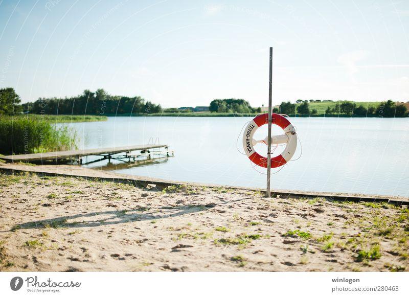 am strand 2 Himmel Natur Ferien & Urlaub & Reisen Wasser Sommer Meer Strand Küste Schwimmen & Baden Glück Sand See Gesundheit liegen Zufriedenheit