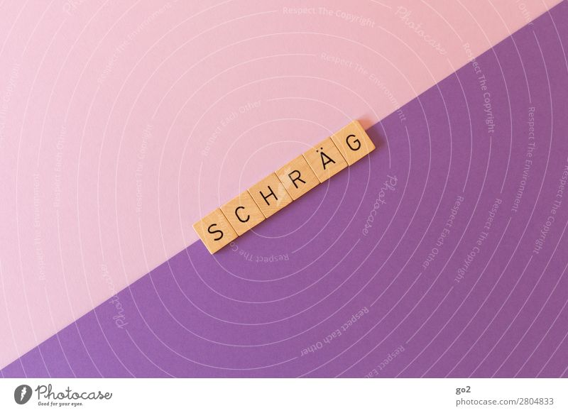 Schräg Freizeit & Hobby Spielen Schreibwaren Papier Schriftzeichen ästhetisch außergewöhnlich einzigartig verrückt violett rosa Idee Inspiration Neigung Dynamik