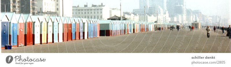 Brighton England Küste Meer Mensch Street