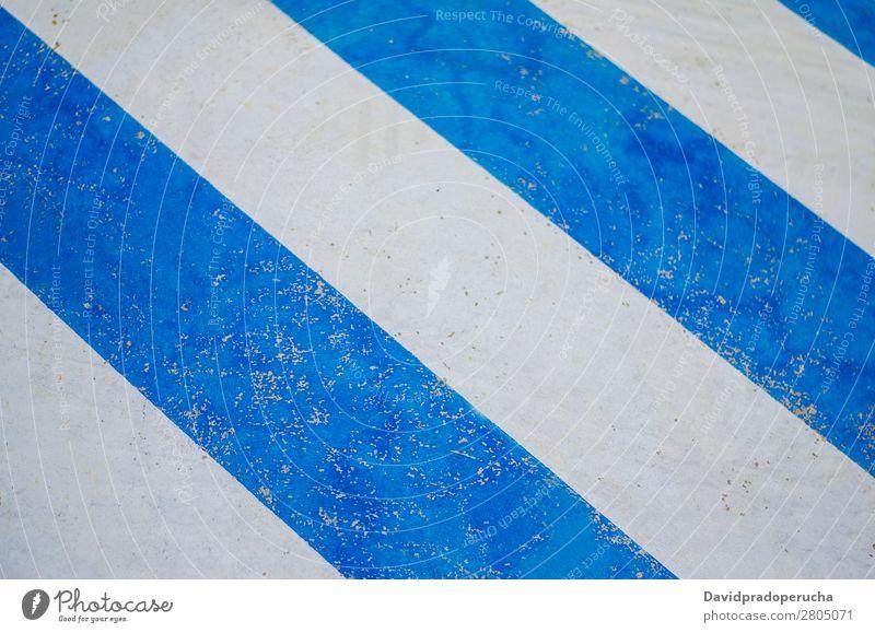 Weißes und blaues Zebra-Verkehrsschild Hintergrundbild Bewegung Mensch Straße stoppen Streifen Signal weiß Zebrastreifen abstrakt Schule Sicherheit Überfahrt