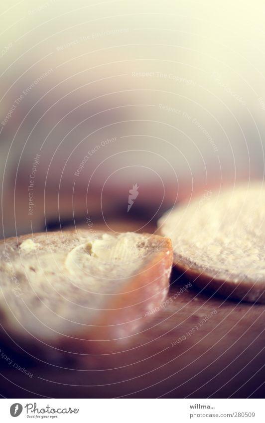 de buddorbämm Brot Butter Margarine Graubrot Belegtes Brot Ernährung Frühstück Abendessen Diät Gesunde Ernährung Armut Bemme Butterbemme Fasten Farbfoto