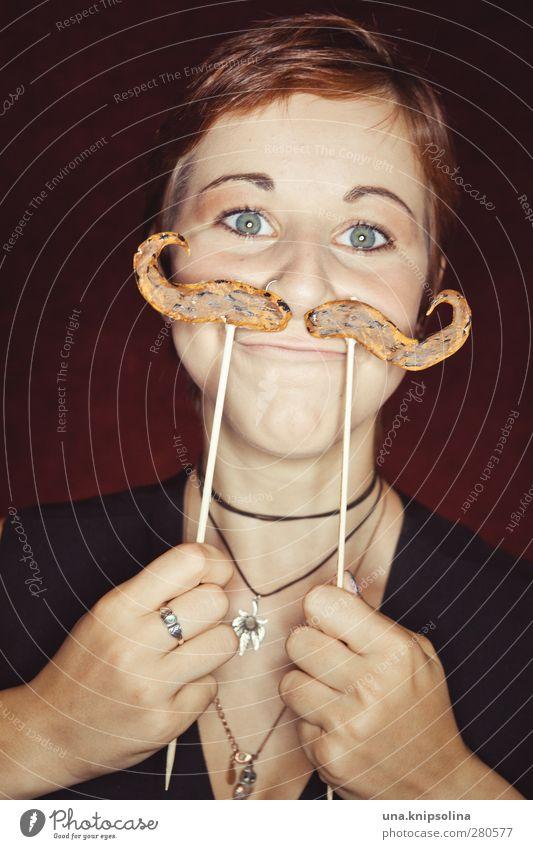 o'zapft is...(bald) Mensch Kind Jugendliche Freude Junge Frau lustig Stil elegant verrückt 13-18 Jahre Lächeln einzigartig Maske Bart brünett Schminke