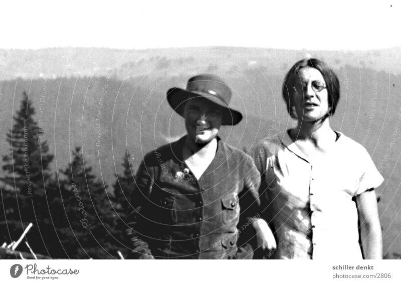 altes paar Mensch Tanne Schwarzwald