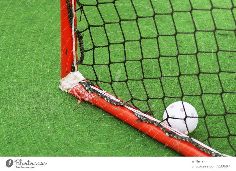 tor des monats grün weiß rot Sport Spielen Freizeit & Hobby kaputt Sportrasen Tor Fußballtor Sportstätten repariert Hockey