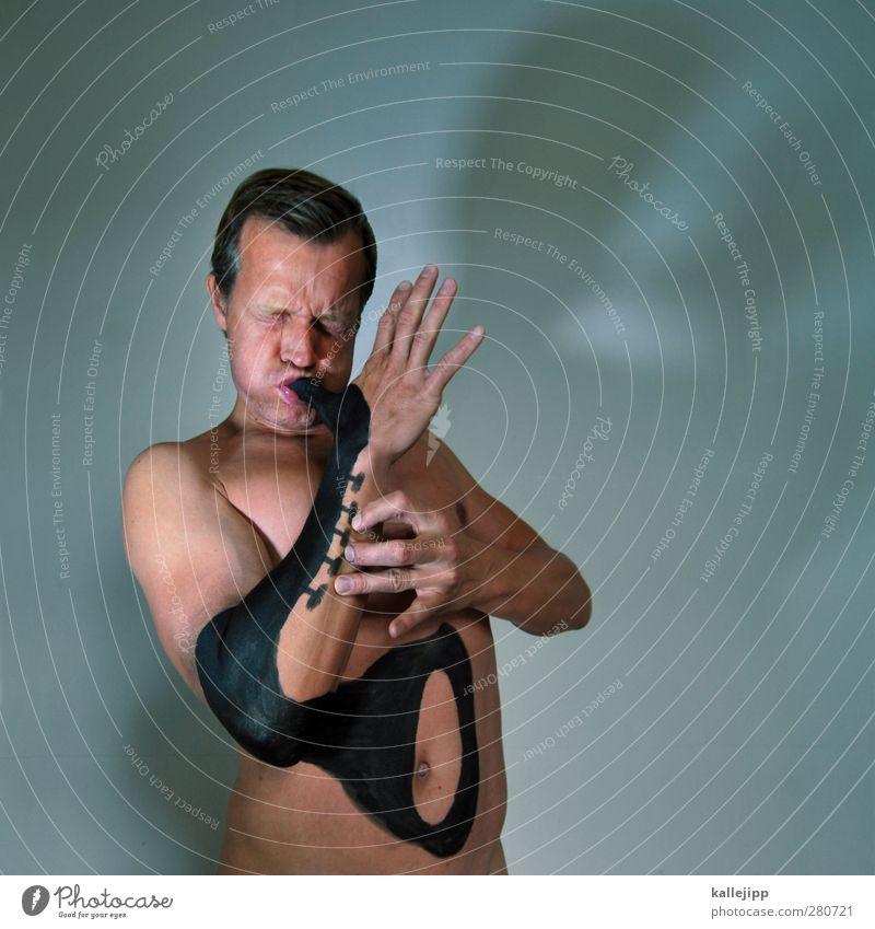 baker street Mensch Mann Hand Erwachsene Gesicht nackt Farbstoff Kopf lustig Kunst Musik Körper Haut Arme maskulin Tattoo
