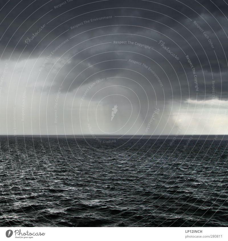 ````` Himmel Natur blau Wasser Ferien & Urlaub & Reisen Sommer Meer Wolken schwarz Umwelt dunkel kalt grau Luft Regen Angst