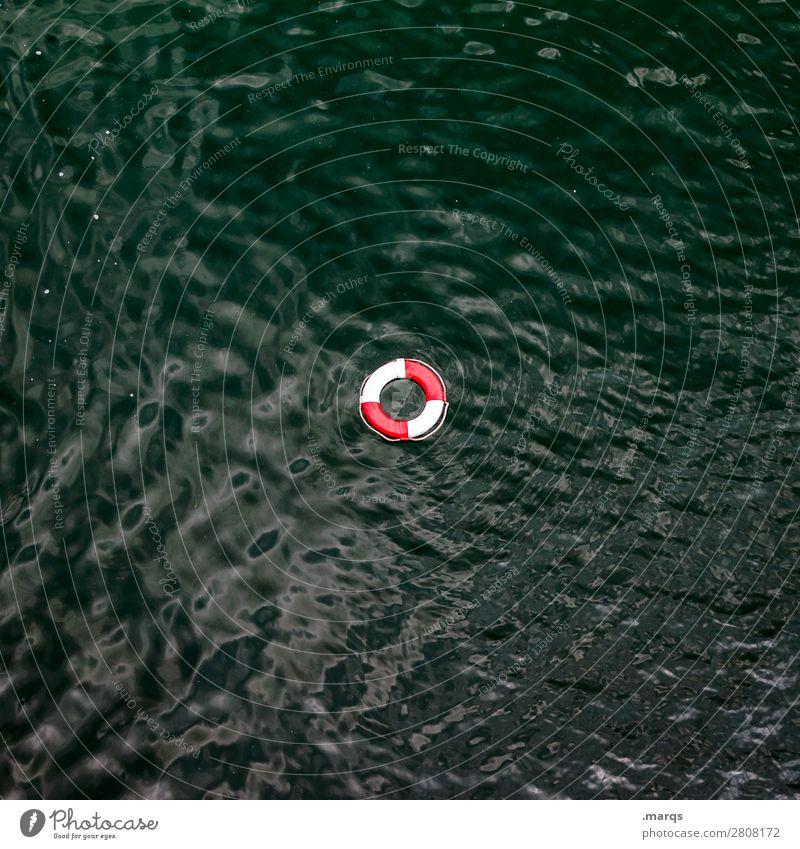 Rettung Kreuzfahrt Wasser Meer See Rettungsring bedrohlich Hilfsbereitschaft Hoffnung Optimismus verloren Lebensrettung vermissen Desaster Sturm untergehen