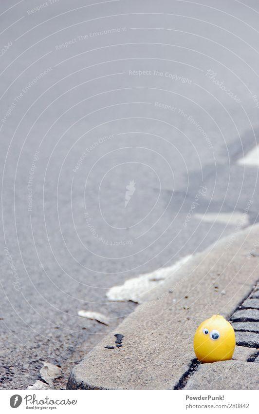 Ein Lichter Moment München Deutschland Stadt Menschenleer Verkehrswege Autofahren Straße Wege & Pfade Fahrzeug Stein Beton Gefühle Stimmung Angst Beginn