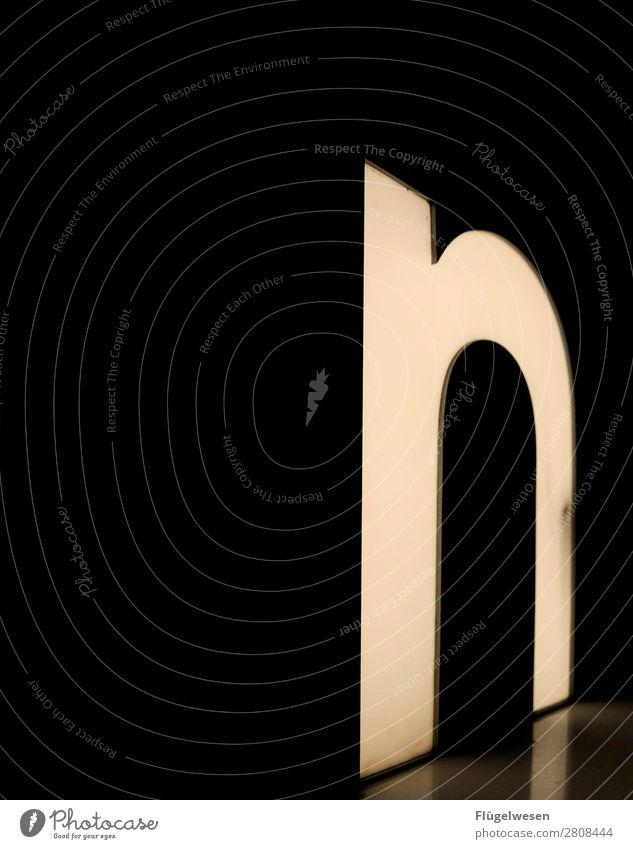 wie Nordpol Ziffern & Zahlen Buchstaben Beleuchtung leuchten Lampe Lateinisches Alphabet Griechisches Alphabet Neonlicht neonfarbig Glühbirne Licht hell dunkel