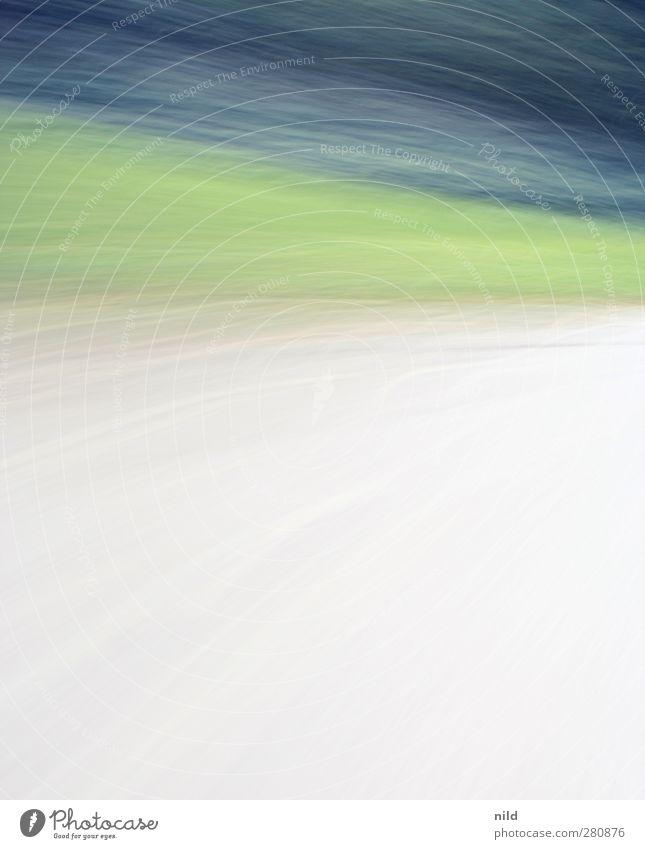 drive by shooting Himmel blau grün weiß Farbe Straße Wiese Bewegung Wege & Pfade Verkehr Geschwindigkeit fahren Asphalt Fahrradfahren rennen drehen