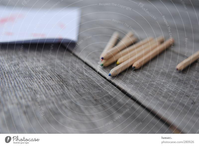 malen Schule Tisch Papier Bildung schreiben zeichnen Schreibstift Kindergarten Zettel Kindererziehung Farbstift Schreibwaren Zeichenstift