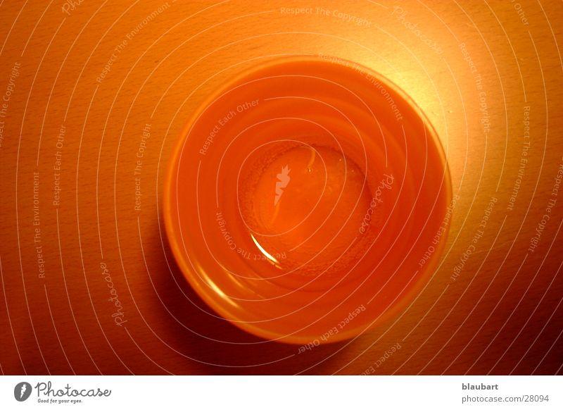 Becher orange Häusliches Leben Statue Neonlicht Digitalfotografie