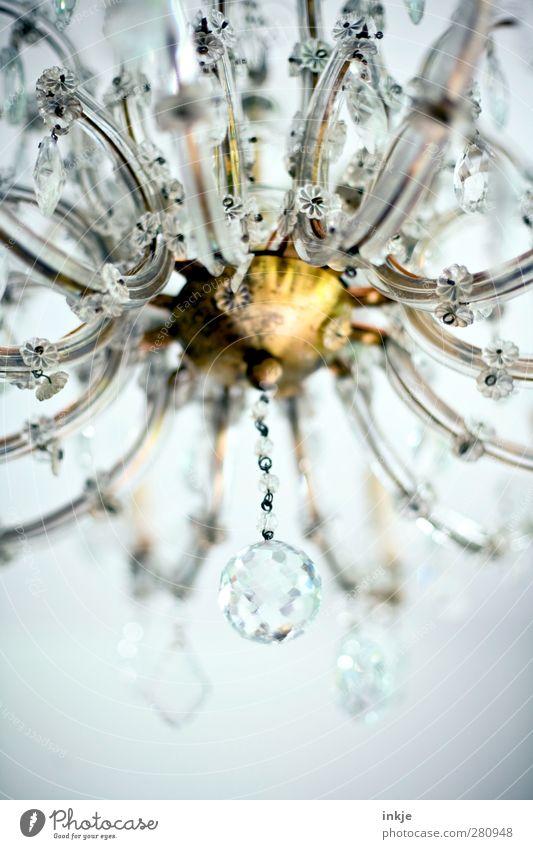 blingblingbling [ morgen gibts Prosecco! ] schön Stil hell Lampe gold Glas glänzend groß hoch elegant Design Lifestyle Häusliches Leben Dekoration & Verzierung