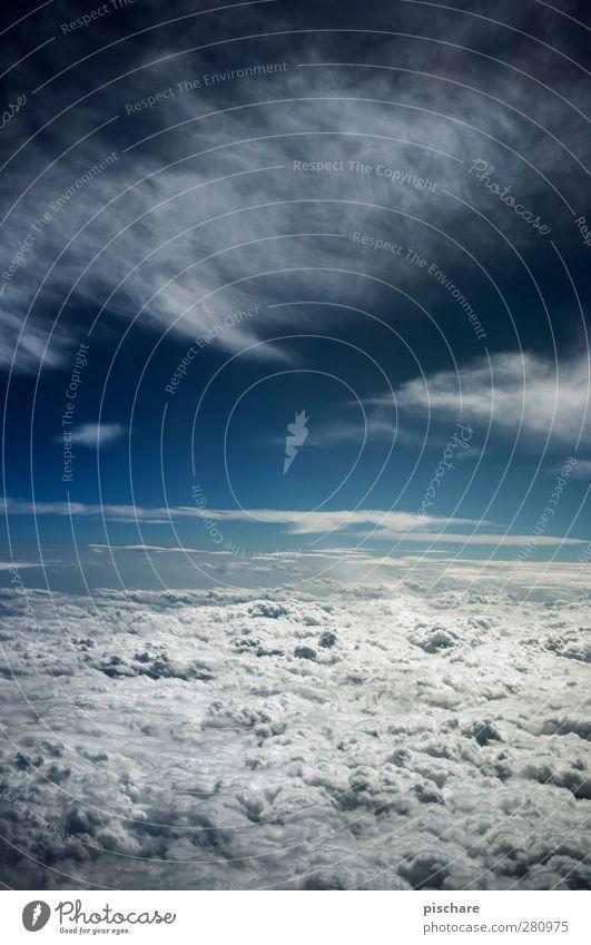 Schneefrei II Himmel blau schön Wolken außergewöhnlich Freiheit fliegen