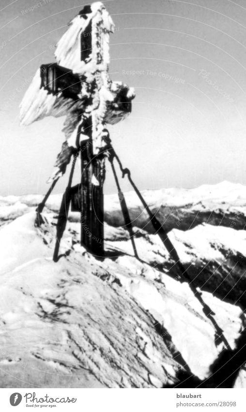ice cross Berge u. Gebirge Eis Rücken Schnee Diascan leicht bearbeitet