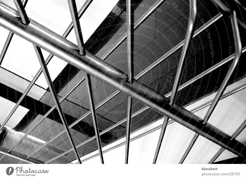 Geländer Treppengeländer Architektur Stahl Digitalfotografie Marmor