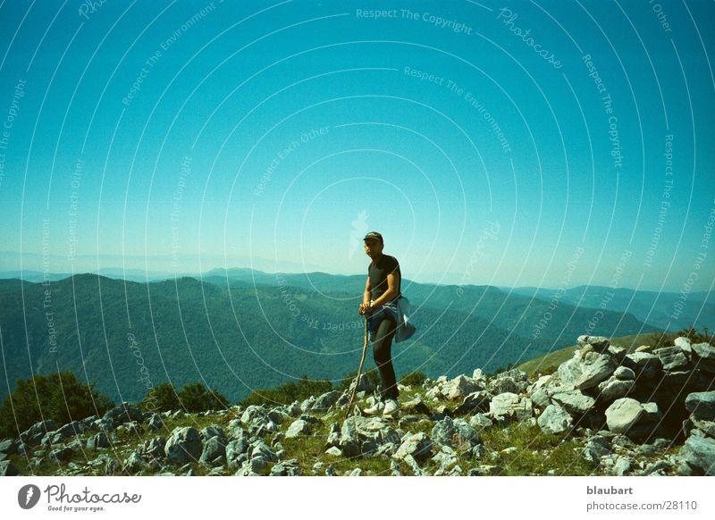 alone over turkey blau Einsamkeit Berge u. Gebirge Türkei