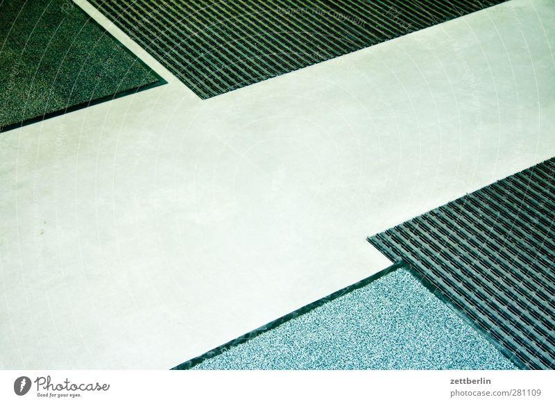 Eingang Häusliches Leben Wohnung Raum Haus Bauwerk Gebäude Fußmatte gut schön Teppich Bodenbelag Wege & Pfade Zugang Fliesen u. Kacheln Mosaik Farbfoto