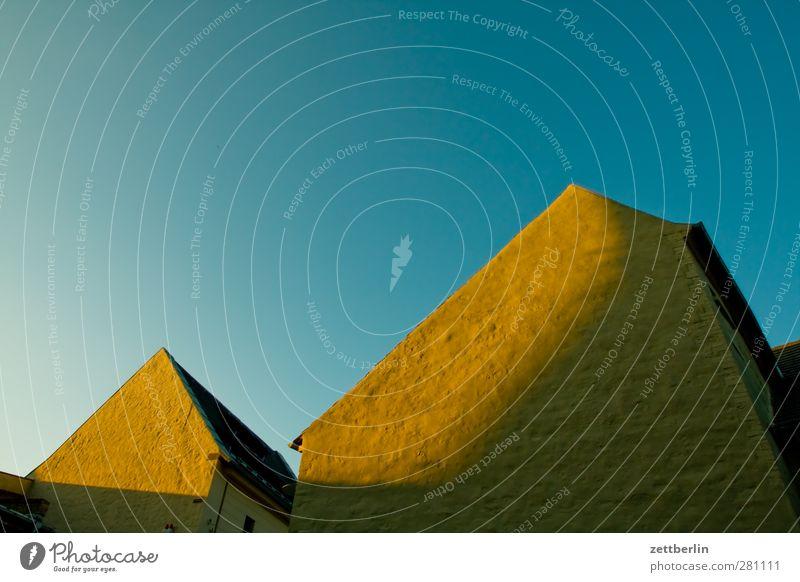 Pyramiden in ASL Umwelt Himmel Wolkenloser Himmel Sonnenaufgang Sonnenuntergang Sommer Klima Klimawandel Wetter Schönes Wetter Kleinstadt Stadt Stadtzentrum