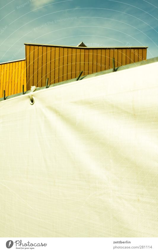 Philharmonie Tourismus Baustelle Architektur Kultur Veranstaltung Konzert Stadt Stadtzentrum Haus Bauwerk Gebäude Mauer Wand Fassade Dach Sehenswürdigkeit