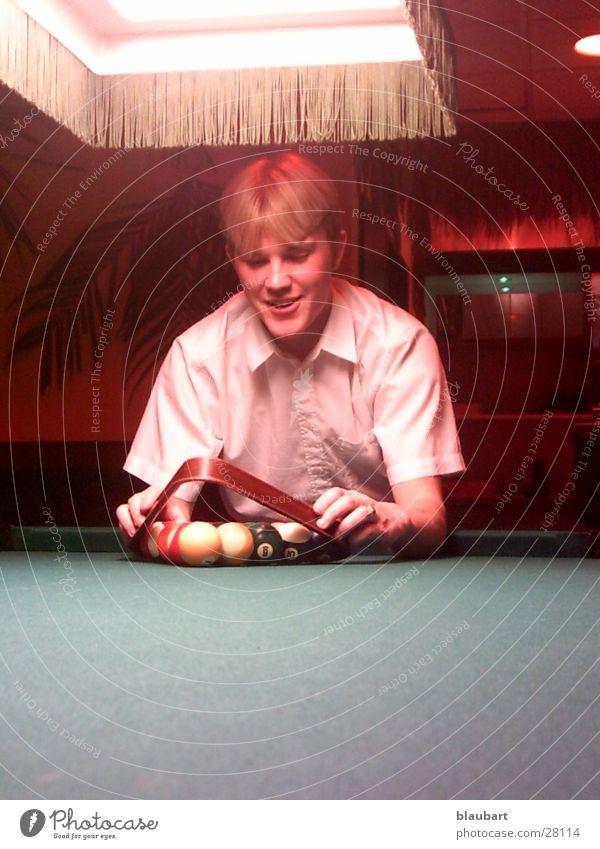Spiel mit den Kugeln Billard Konstruktion Billiardtisch