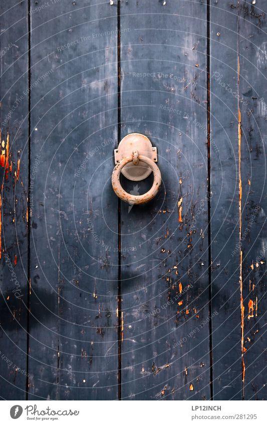 The Doors XIII Häusliches Leben Wohnung Haus Lüneburg Hütte Tür Holz alt dunkel gruselig historisch Klingel Altstadt Eingang Farbfoto Außenaufnahme Menschenleer