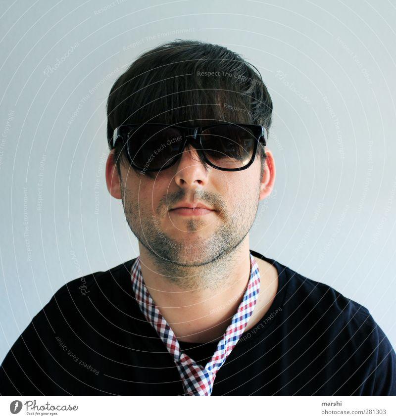 Der coolste Typ im Universum Lifestyle Stil Mensch maskulin Junger Mann Jugendliche Erwachsene Kopf Bart 1 18-30 Jahre Accessoire Sonnenbrille Haare & Frisuren