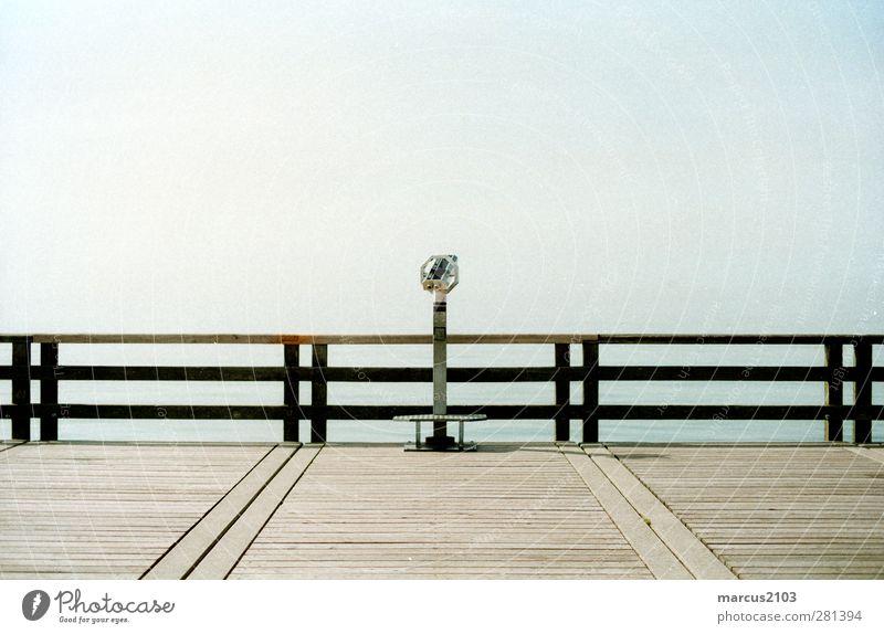 spotting Ferien & Urlaub & Reisen Sommer Meer Strand Landschaft Ferne Wärme Wege & Pfade Küste Freiheit Tourismus Ausflug Schönes Wetter Brücke Hafen Ostsee