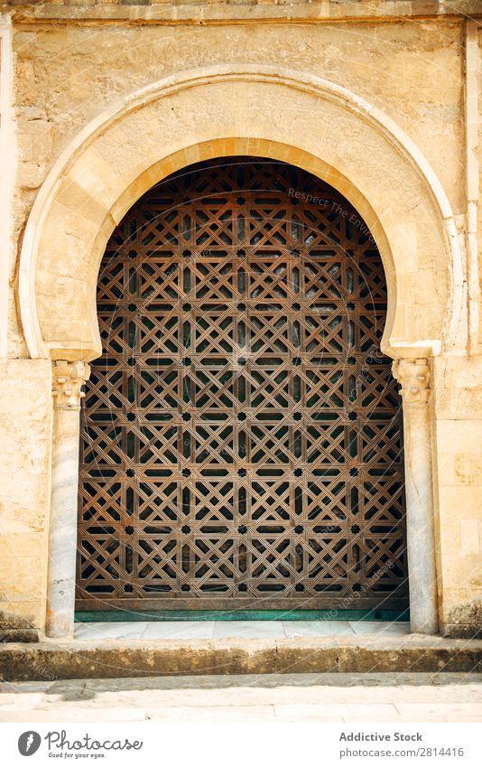 Außenbereich der Kathedrale und der ehemaligen Großen Moschee von Cordoba Mezquita Innenarchitektur Islam Spanien Gebäude Weltkulturerbe islamisch