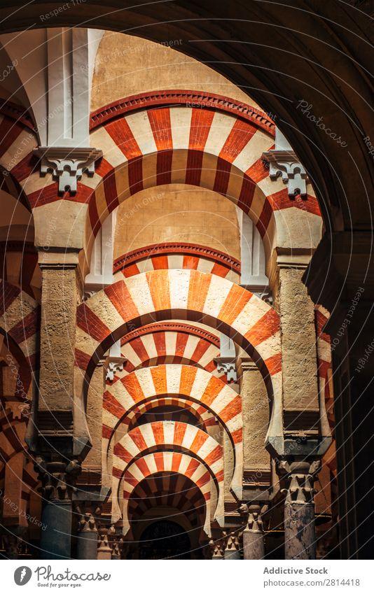 Das Innere der Kathedrale und der ehemaligen Großen Moschee von Córdoba Cordoba Mezquita Innenarchitektur Islam Spanien Gebäude Weltkulturerbe islamisch