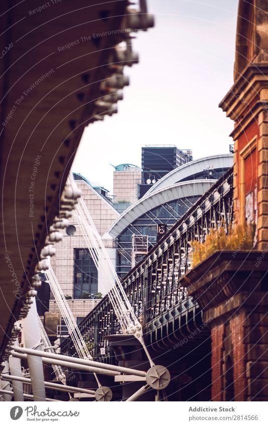 Ausschnitt der Brücke in London Skyline England Architektur Großbritannien Großstadt Stadt Wahrzeichen Ferien & Urlaub & Reisen Gebäude Berühmte Bauten Themse